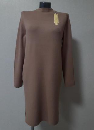 Супер-качество!модное,экстравагантное,стильное,мега- теплое,25%кашемира,5%шерсти,платье