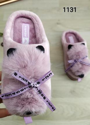 Детские тапочки jomix с котиками