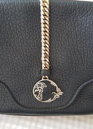 Кожаная сумка versace collection оригинал