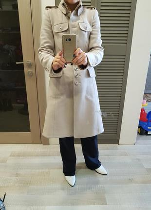 Шерстяное пальто karen millen
