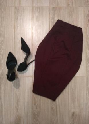 Бандажная юбка zara