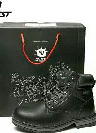 Qwest зимние ботинки сапоги на натуральной шерсти