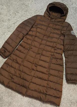 Оригинал.фирменное,стеганое,демисезонное пальто-куртка colours of the world