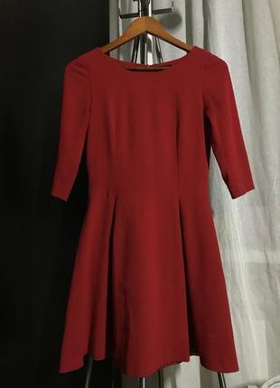Идеальное красное платье f&f