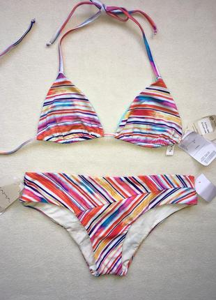 Купальник бикини на завязках колумбийского бренда saha swimwear оригинал