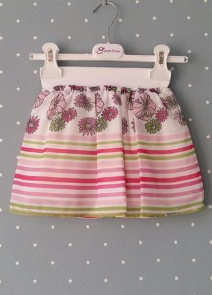 Шифоновая юбка sarah chole (италия) на 2-3 годика (размер 92-98)