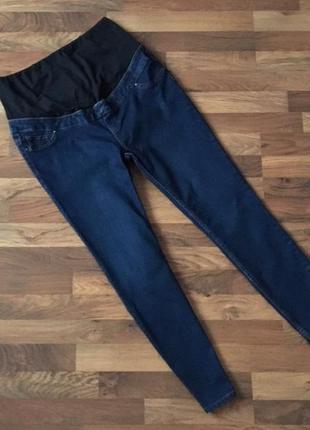 Синие джинсы для беременных размер xl