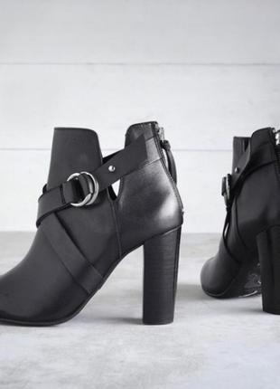 Ботинки осенние кожа очень красивые,елегантные mademoiselle