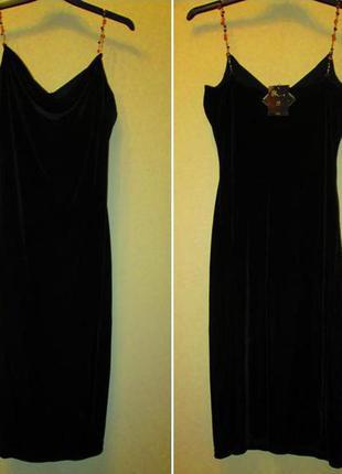 Шикарное элегантное платье bhs по фигуре размер 10-12
