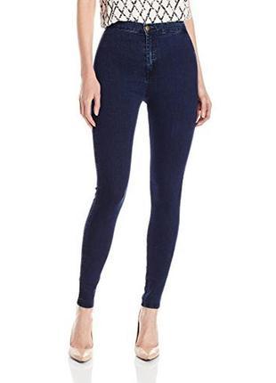 American apparel джинси індиго висока посадка