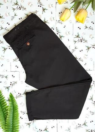 🌺черные зауженные узкие мом mom плотные джинсы new look с подворотами, размер 50 - 52