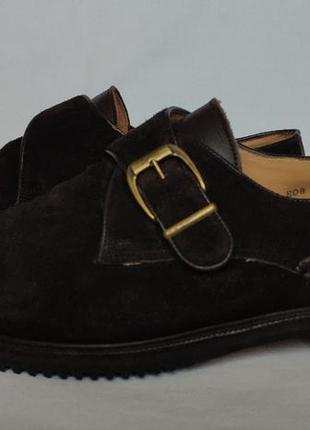 Туфли bally (замша). size 10 / 29cm