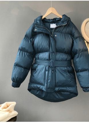 Красивенная синяя куртка