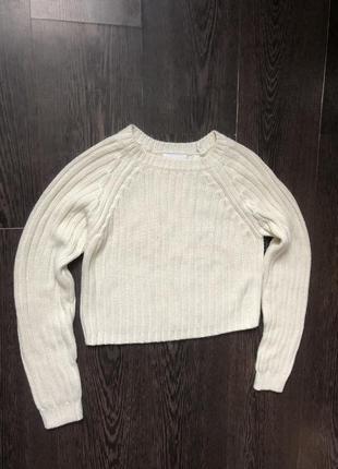 Укорочённый свитер ,кофта monki и много скидок 💕💕💕❤️2 фото