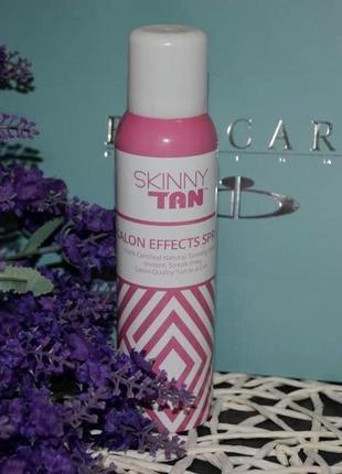 Спрей-автозагар с эффектом салонного ухода skinny tan salon effects spray 150 мл