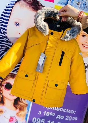 Куртка парка примарк на мальчика, куртка примарк зима