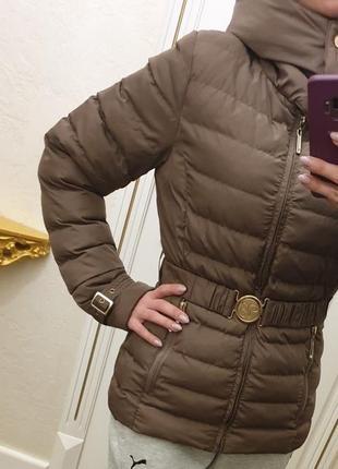 Стильная теплая куртка осень-зима