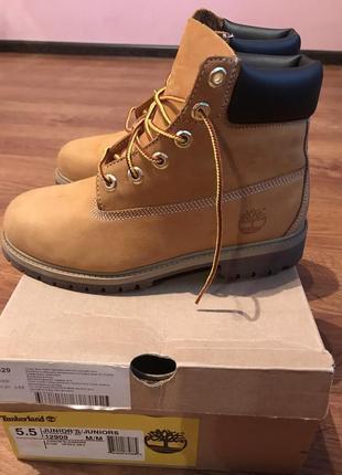 Женские демисезонные ботинки timberland оригинал