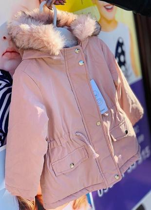 Куртка парка примарк для девочек, куртка примарк зима, куртка парка