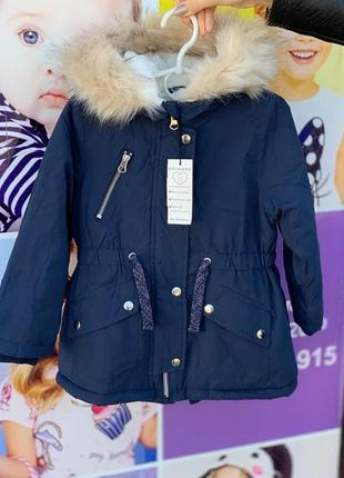 Куртка парка примарк для девочек, куртка примарк зима, куртка парка primark