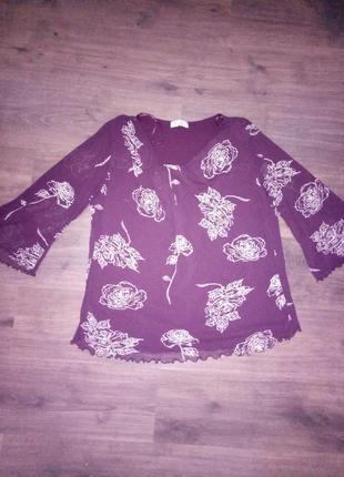 Нарядная блузка , большой размер