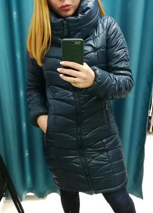 Тёплая куртка-пуховик на холодную зиму
