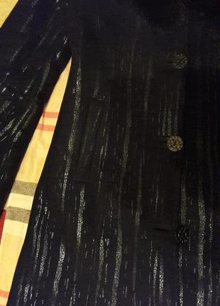 Дубленка длинная с капюшоном черная дубленка женская дубленка7 фото