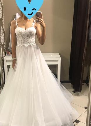 Свадебное платье fara sposa