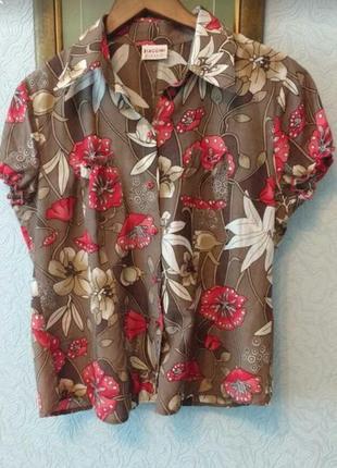 Легкая яркая блуза