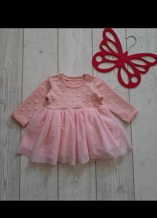 Платье на малышку +повязка в подарок!!!