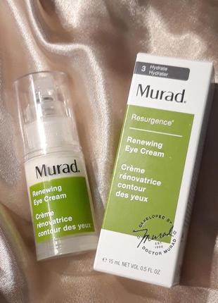 Люксовый крем для глаз murad renewing eye cream