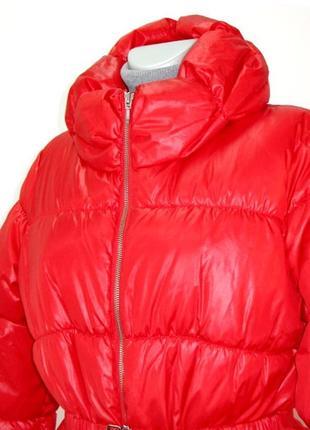 Яркая женская демисезонная красная куртка siluan heach