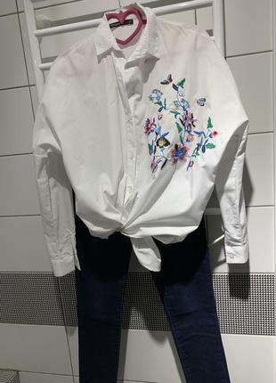 Оверсайз рубашка