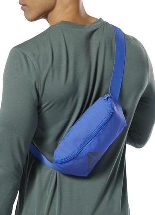 Поясная сумка  reebok синяя, оригинал