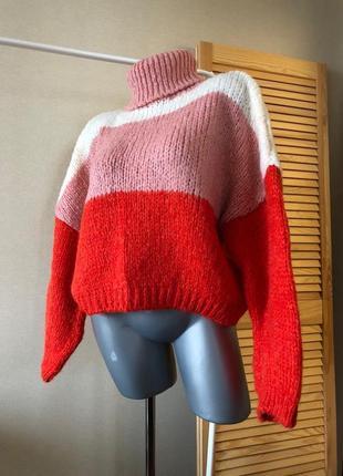 Dilvin объемный свитер с шерстью