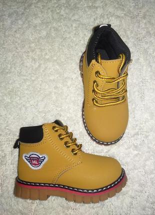 Осенние ботинки тимберленд