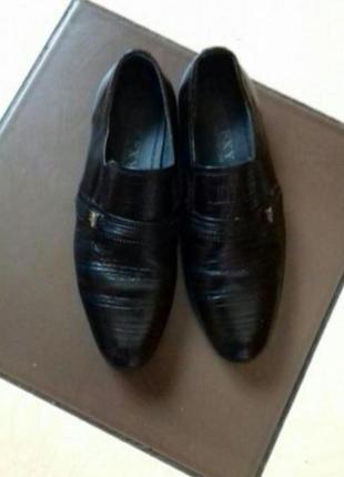 Кожаные классические туфли