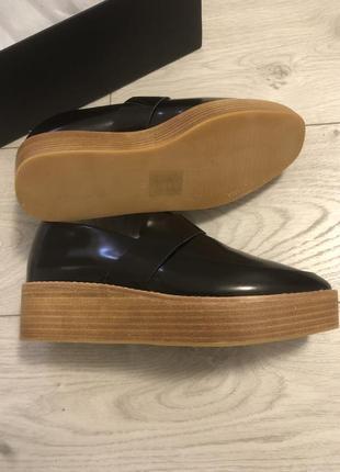 Кожаные лоферы/туфли sol sana