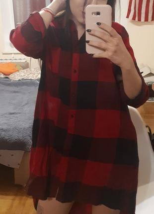 Платье рубашка reserved