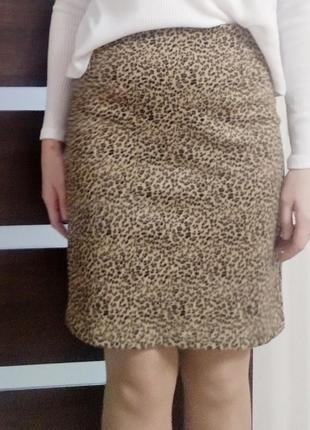 Крутая леопардовая юбка тренд 2019-2020 года