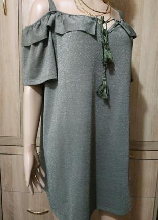 Очень красивая блузка с люрексом m&s mode