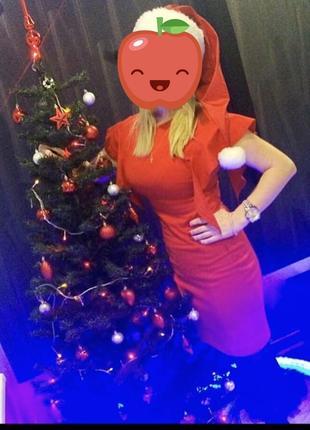 Вечернее красное платье фирмы топ сикрет 36р