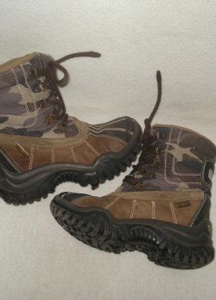 Скидка!!!primigi утепленные кожаные ботинки
