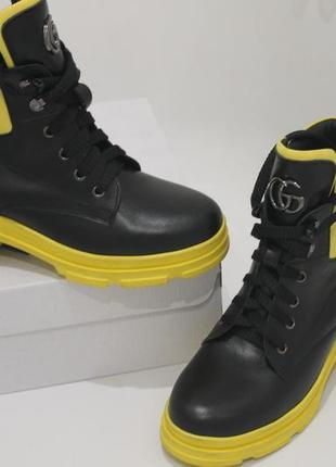 Ботинки кожа натуральная ,зима 2020