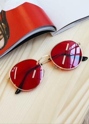 Красные имиджевые очки для имиджа, цветные линзы, червоні окуляри для іміджу іміджеві