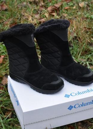 Columbia оригинал новые женские валенки сапоги на зиму  черные размер 38