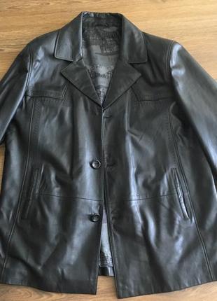 Пиджак -куртка (кожаний)