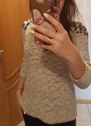 Зимний свитерок