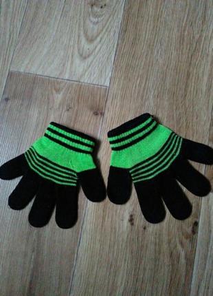 Перчатки 4-6лет