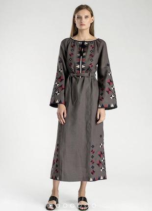 Вышиванка-платье etnodim